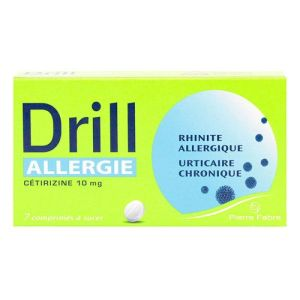 Drill Allergie Cetiriz 10mg Cp