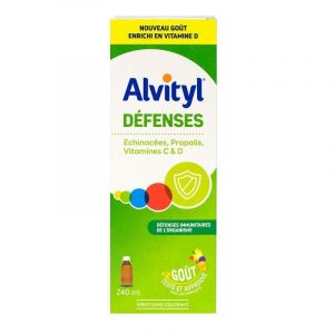 Alvityl Defenses Sirop 240ml