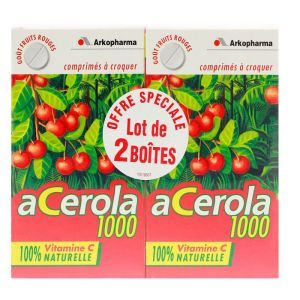Acerola 1000 Cpr Croq 30 Lot2