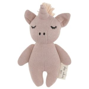 Hochet Licorne Rose Konges