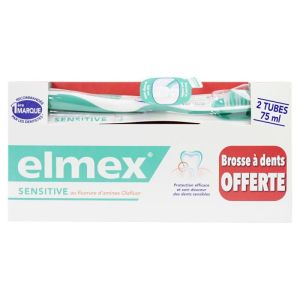 Elmex Dent Sensitiv 75ml X2