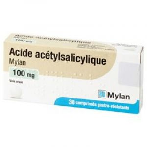 Acide Acetylsalicylique 100mg Mylan Cpr 30