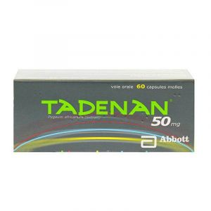Tadenan 50mg Caps B/60